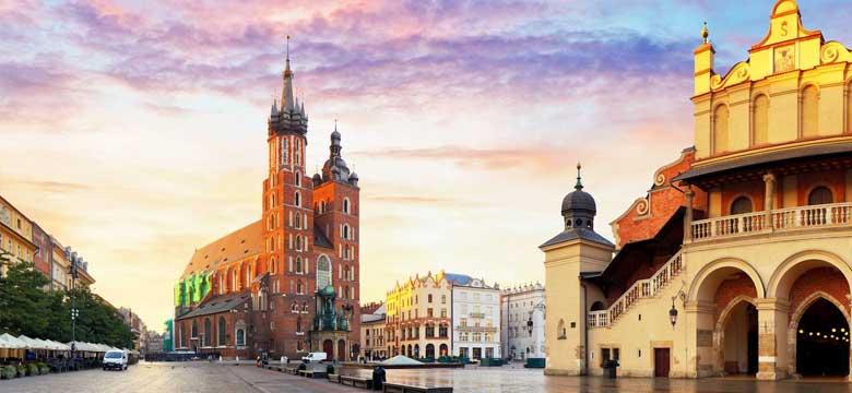 Krakow Uçak Bileti